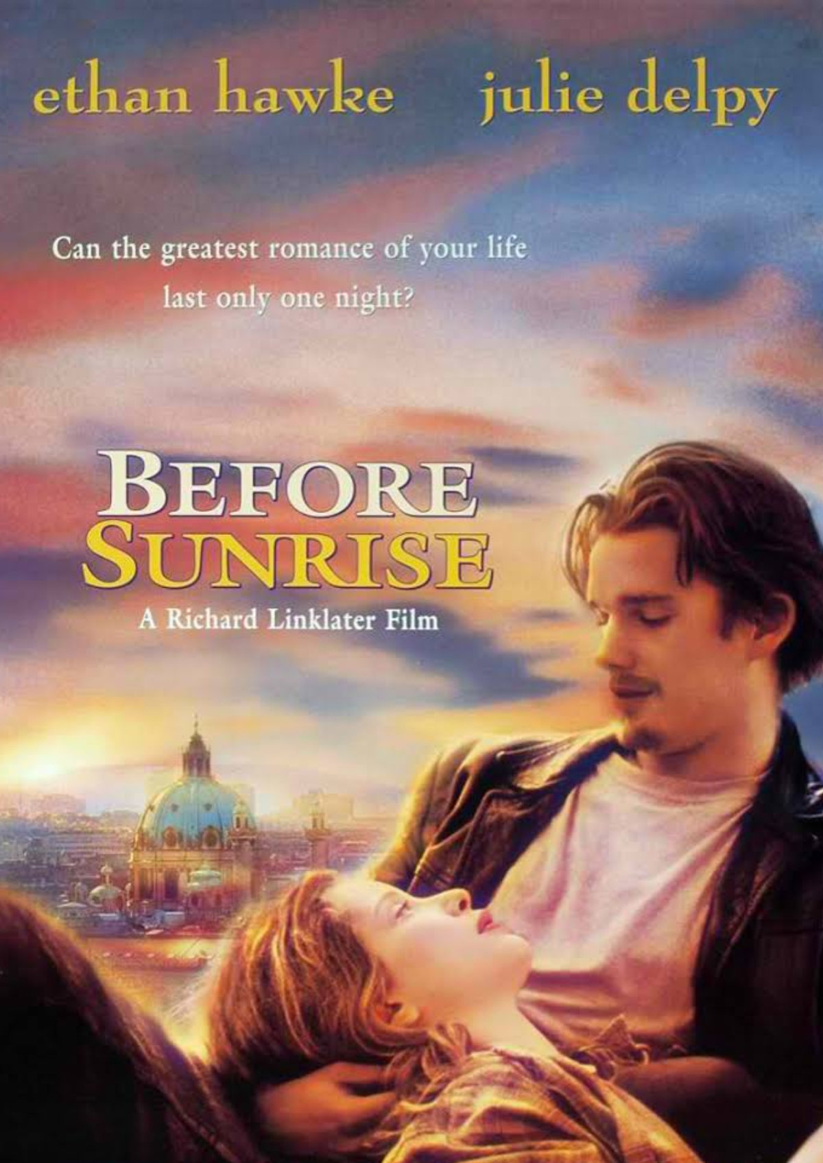 'Before Sunrise' movie poster