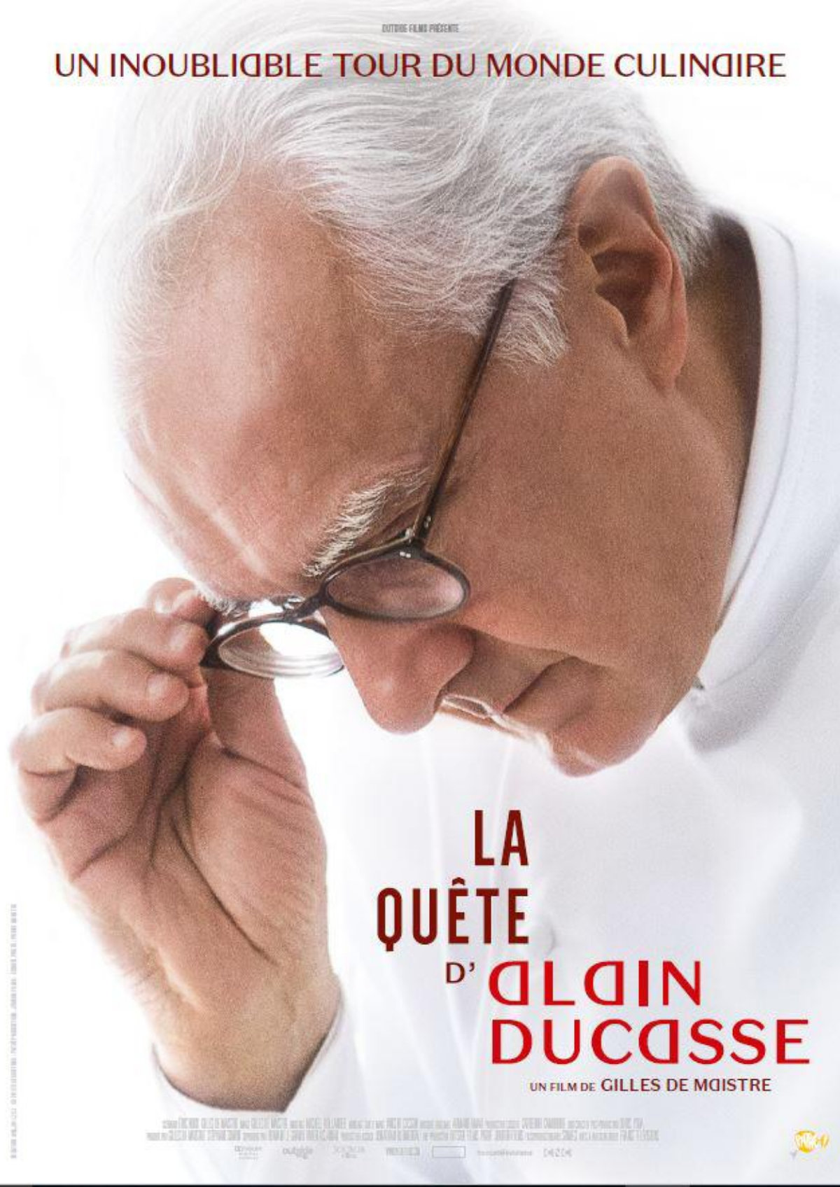 'The Quest Of Alain Ducasse' movie poster