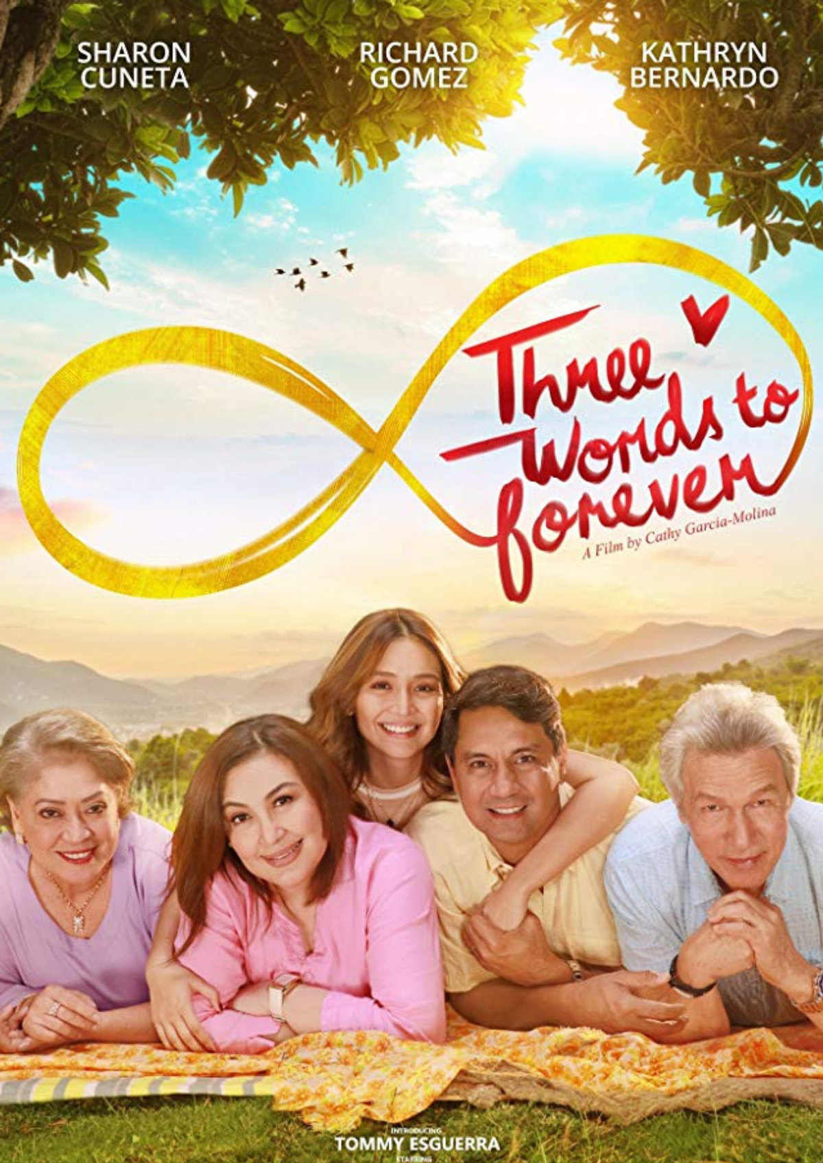 'Three Words To Forever' movie poster