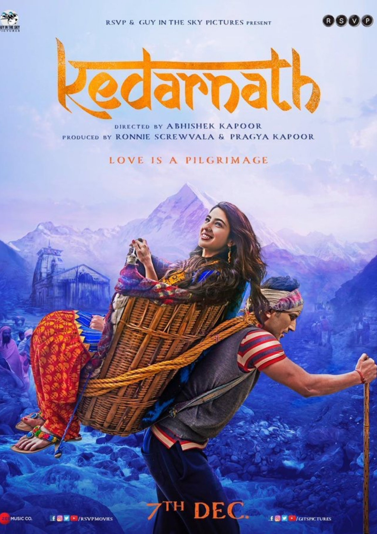 'Kedarnath' movie poster