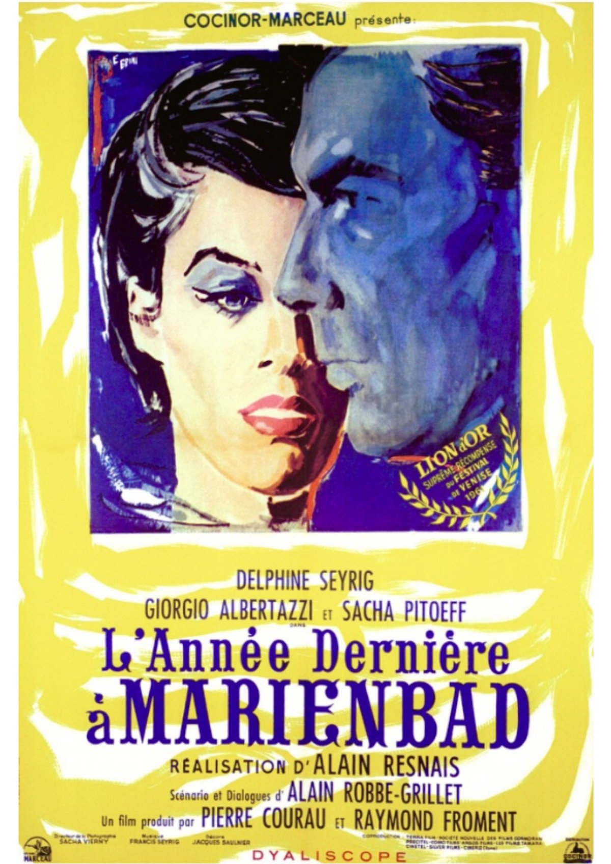 'Last Year At Marienbad (L'Annee Derniere A Marienbad)' movie poster