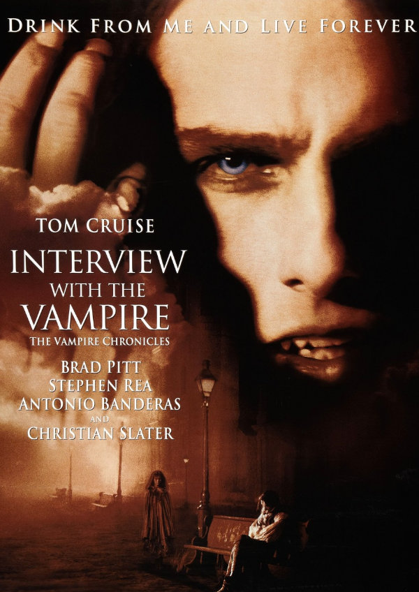 'Interview With the Vampire' movie poster