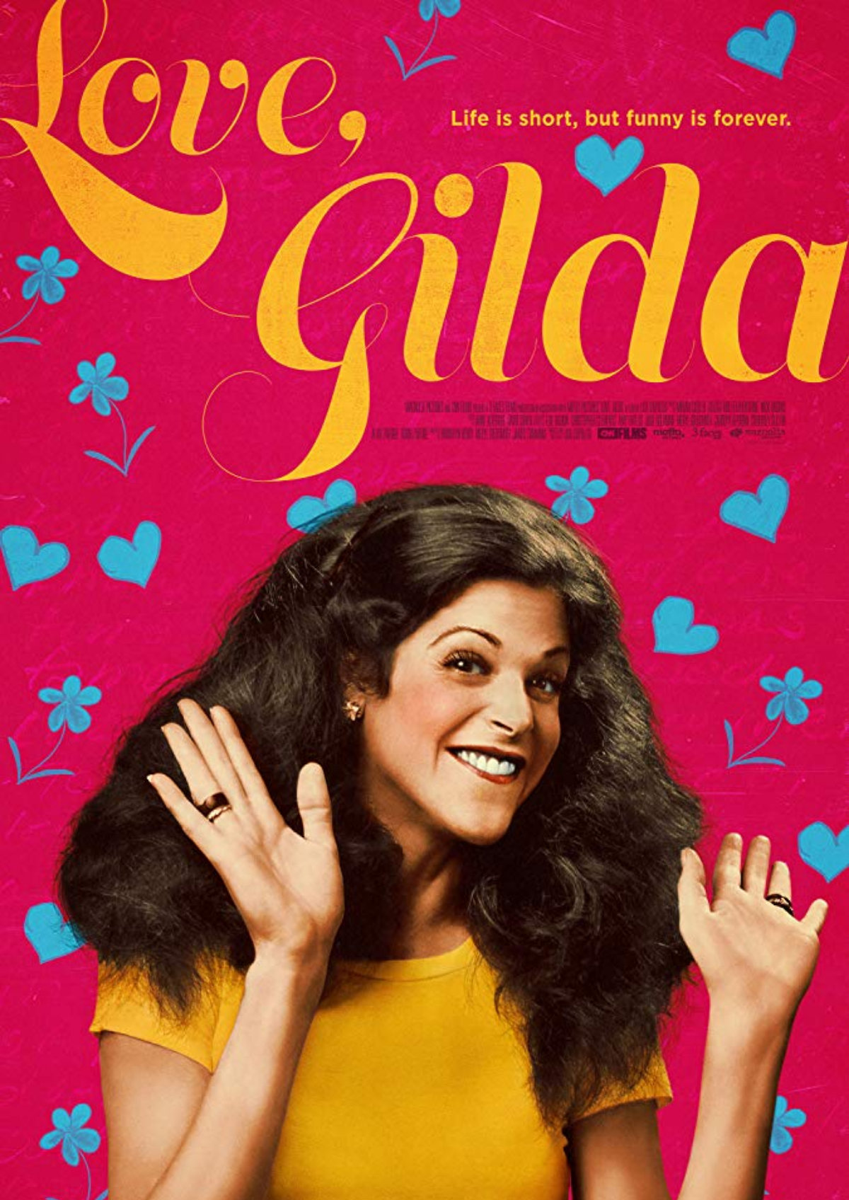 'Love, Gilda' movie poster