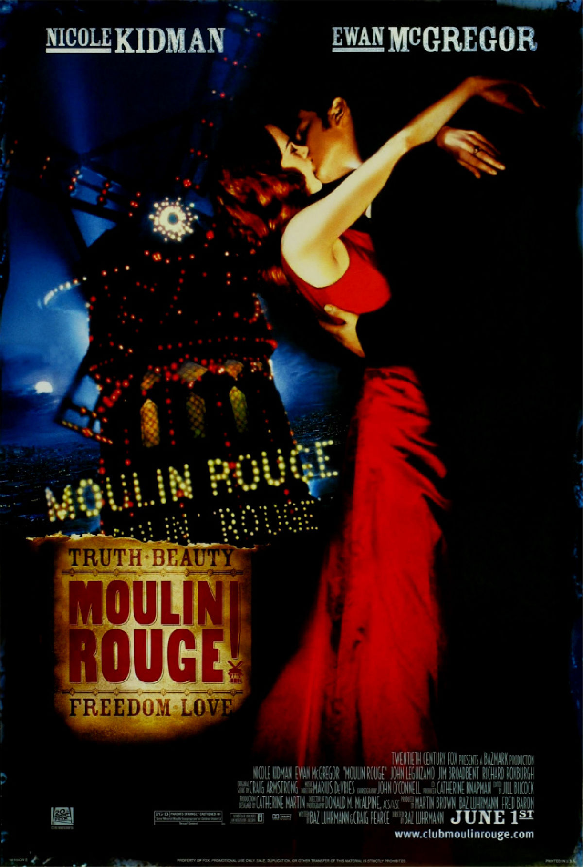 'Moulin Rouge (Sing-A-Long)' movie poster