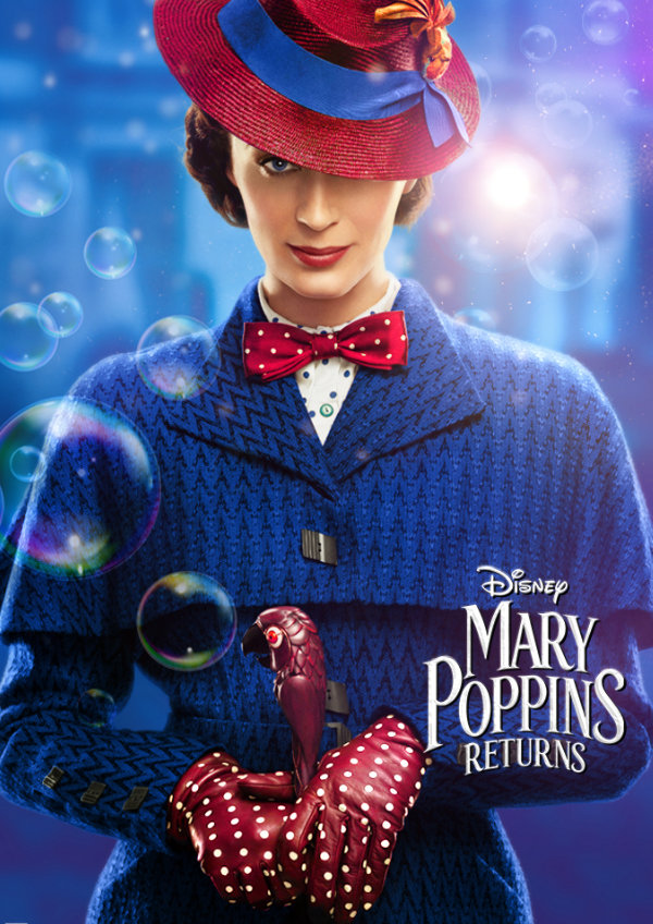 'Mary Poppins Returns' movie poster