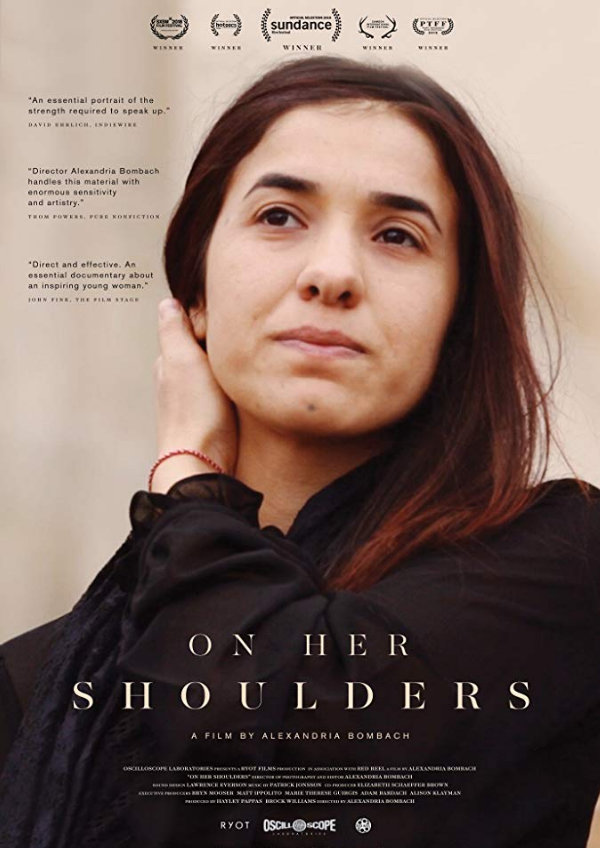 'On Her Shoulders' movie poster