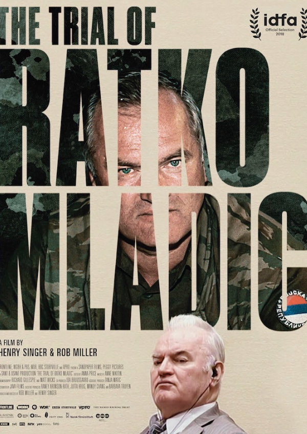 'The Trial Of Ratko Mladic' movie poster