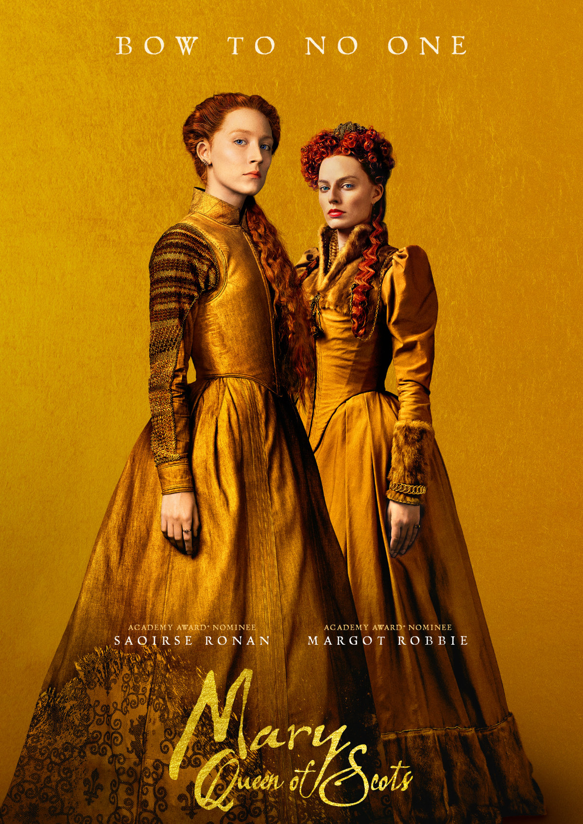 'Mary Queen Of Scots' movie poster