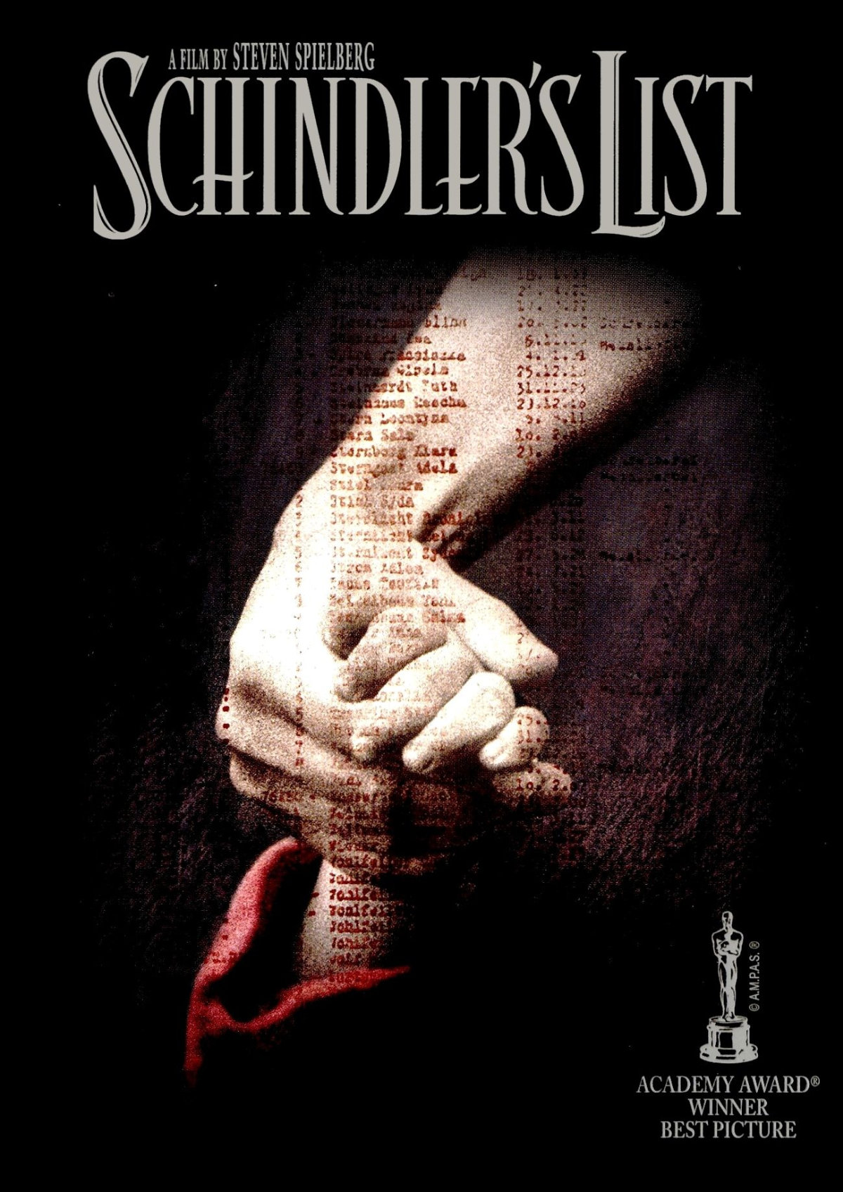 'Schindler's List' movie poster