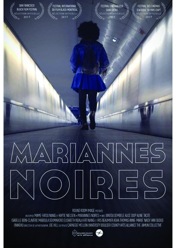 'Mariannes Noires' movie poster