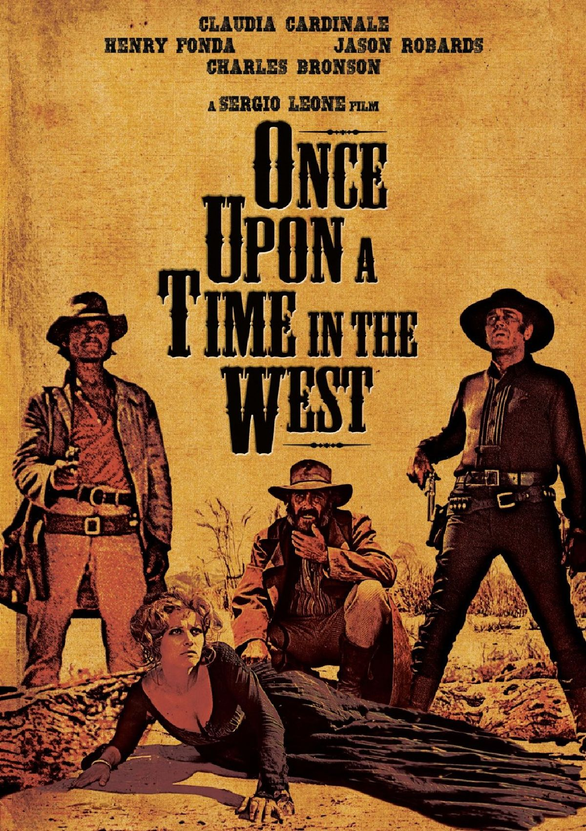 'Once Upon a Time in the West (C'era una volta il West)' movie poster