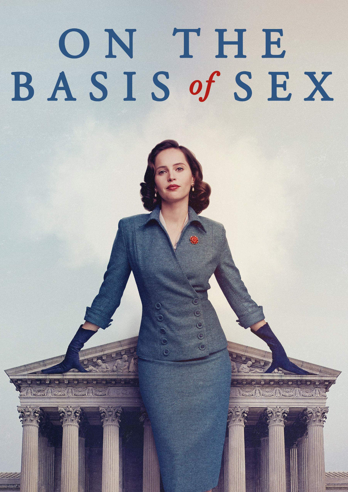 'On the Basis of Sex' movie poster