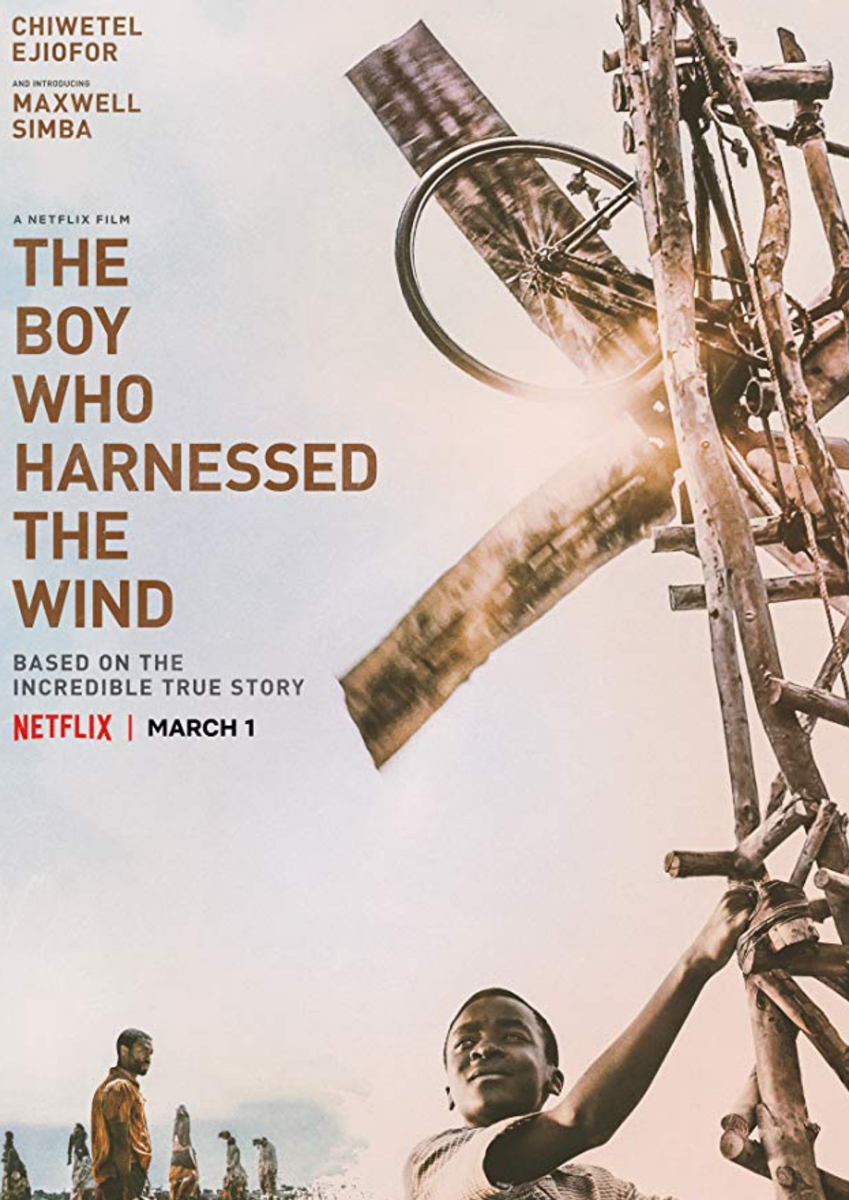 'The Boy Who Harnessed The Wind' movie poster