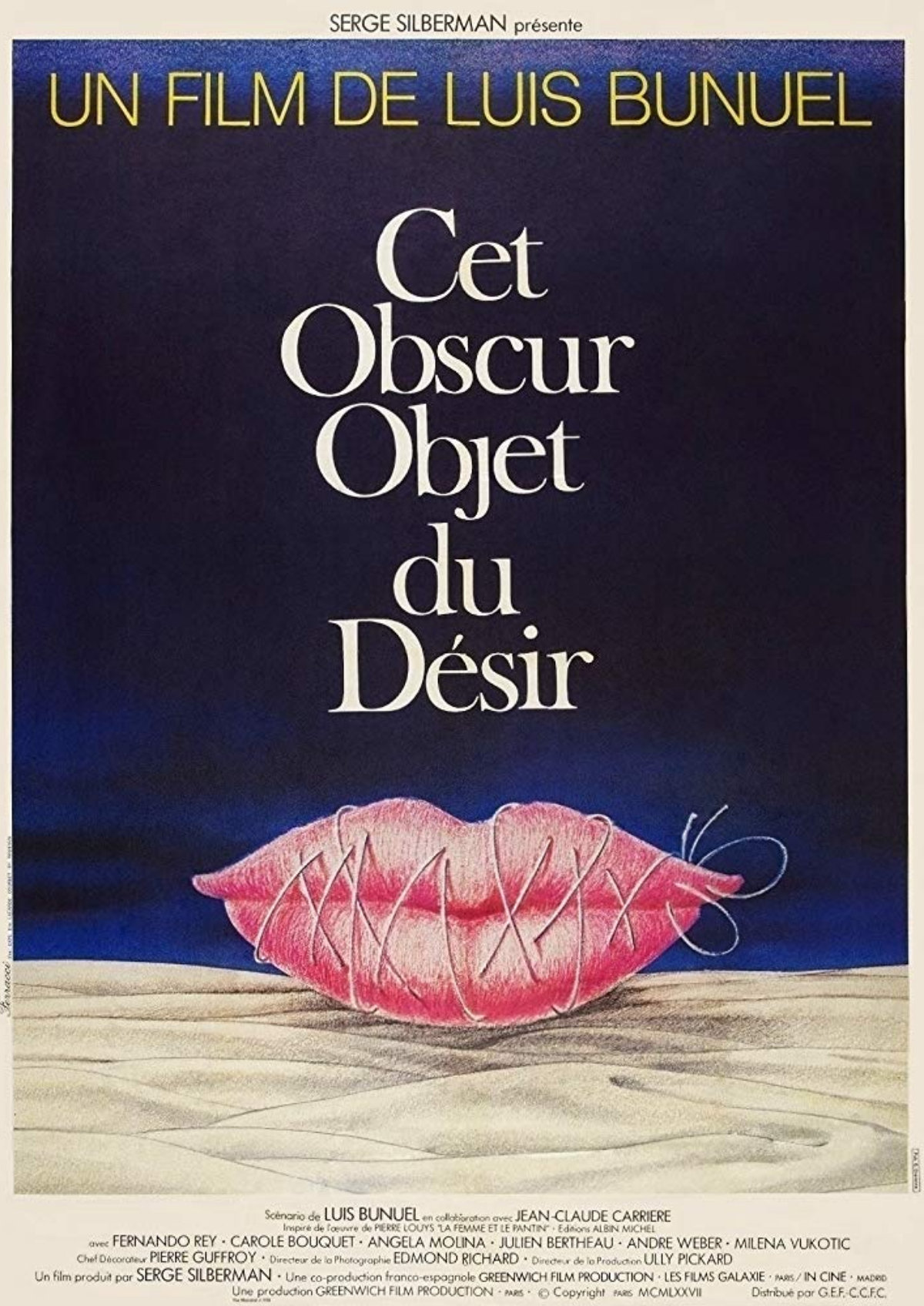 'That Obscure Object Of Desire' movie poster