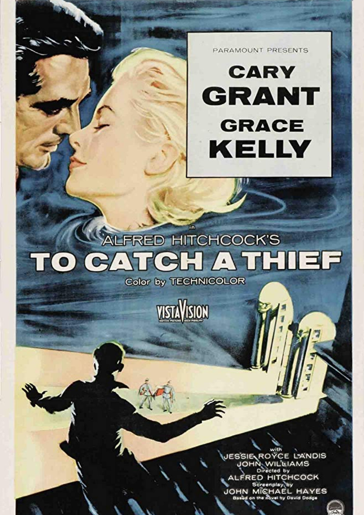 'To Catch A Thief' movie poster