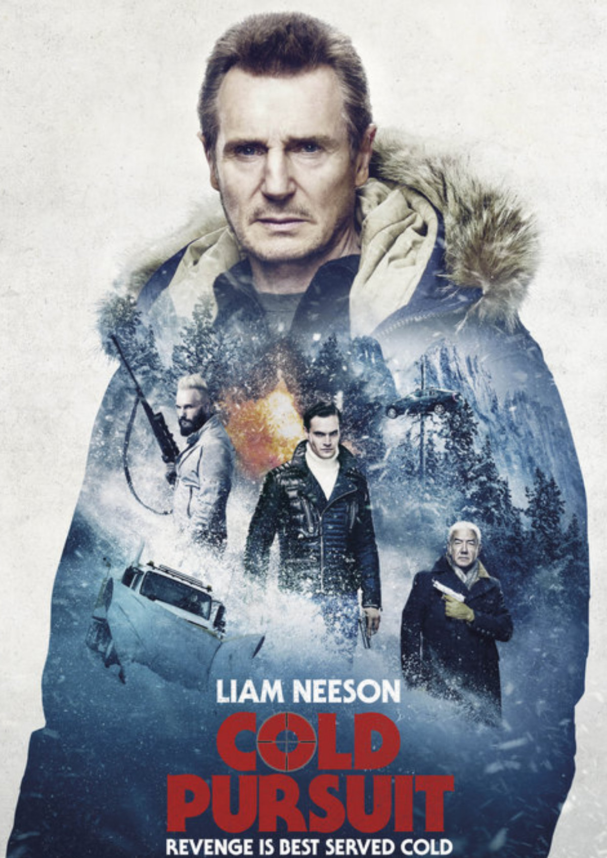 'Cold Pursuit' movie poster
