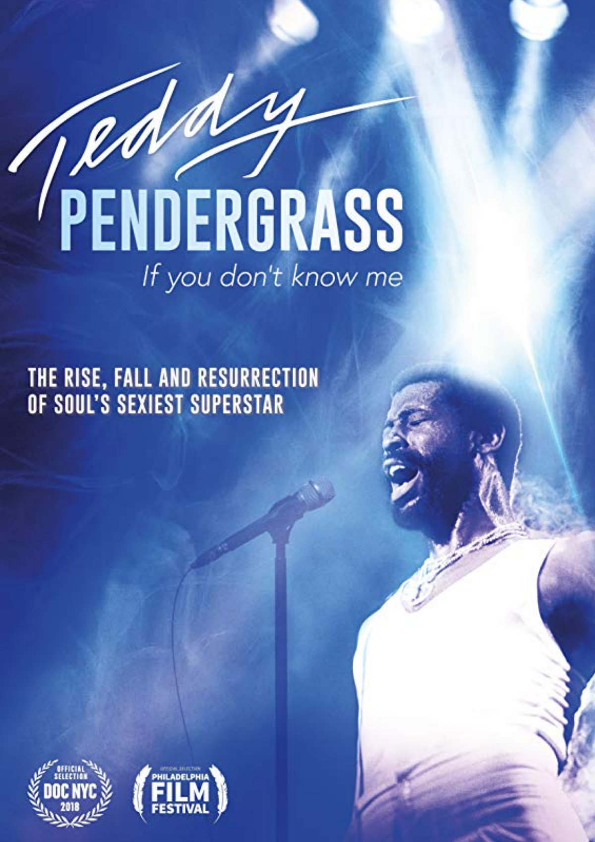'Teddy Pendergrass: If You Don't Know Me' movie poster