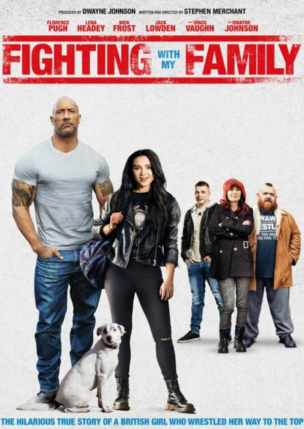 'Fighting With My Family' movie poster
