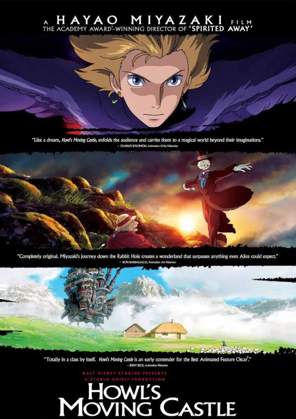 Poster for 'Howl's Moving Castle'