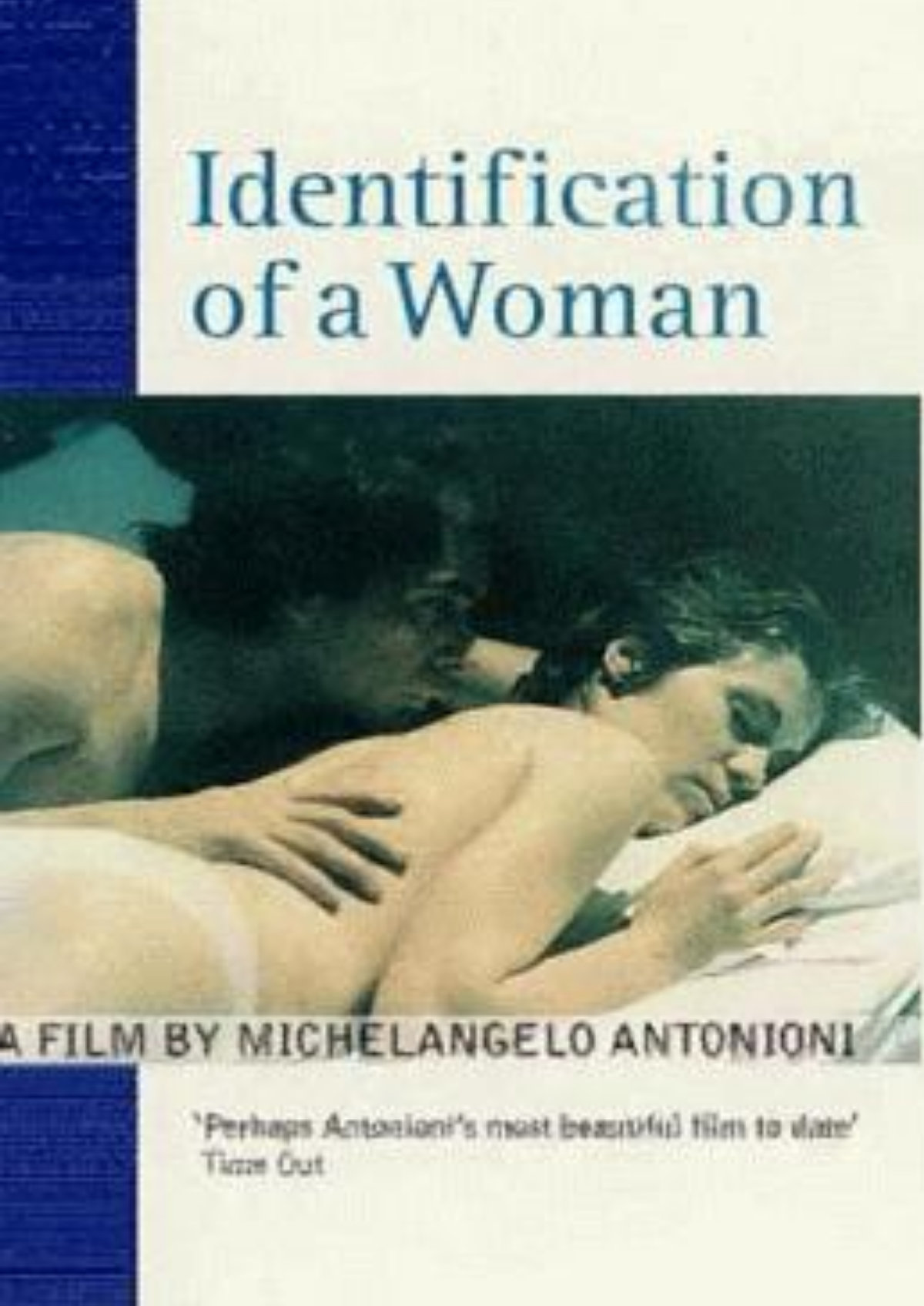 'Identification Of A Woman' movie poster