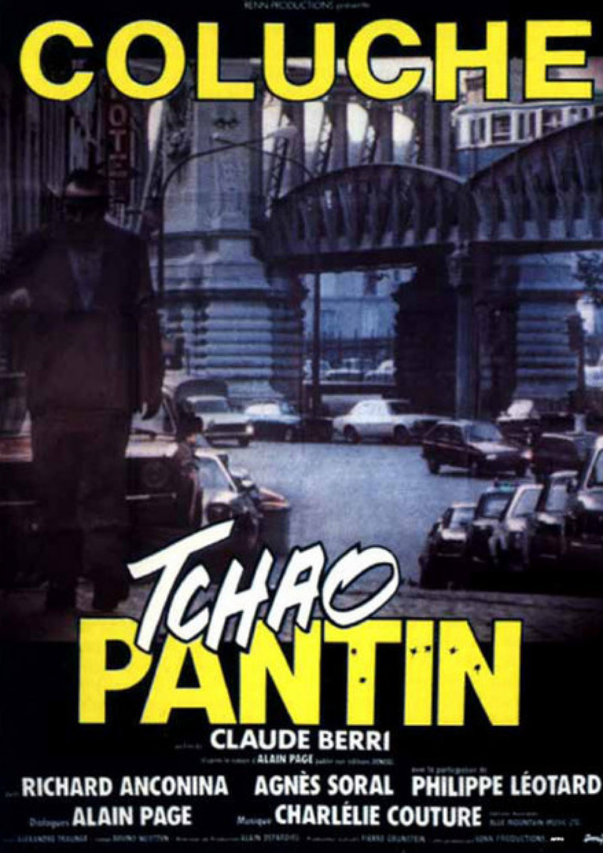 'Tchao Pantin (So Long, Stooge)' movie poster
