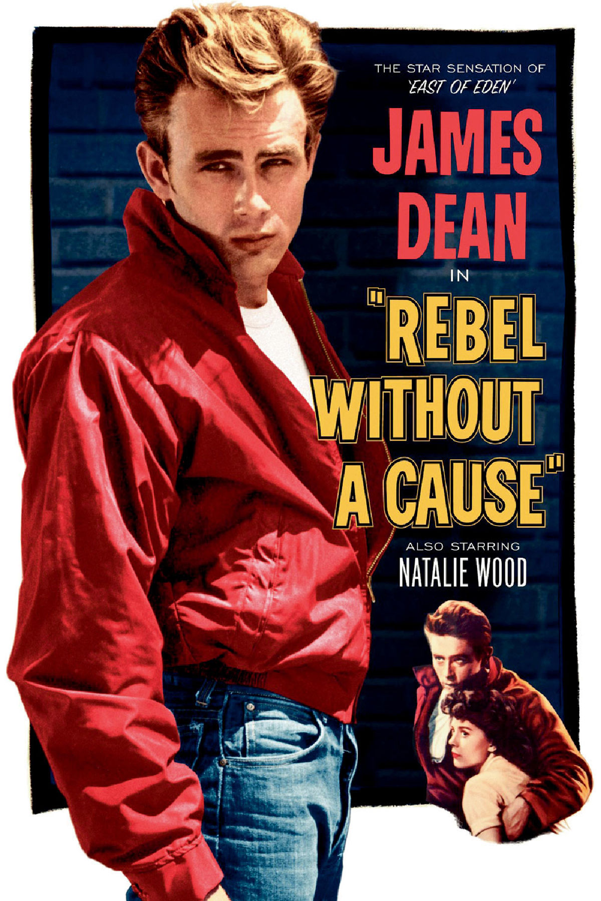 'Rebel Without A Cause' movie poster
