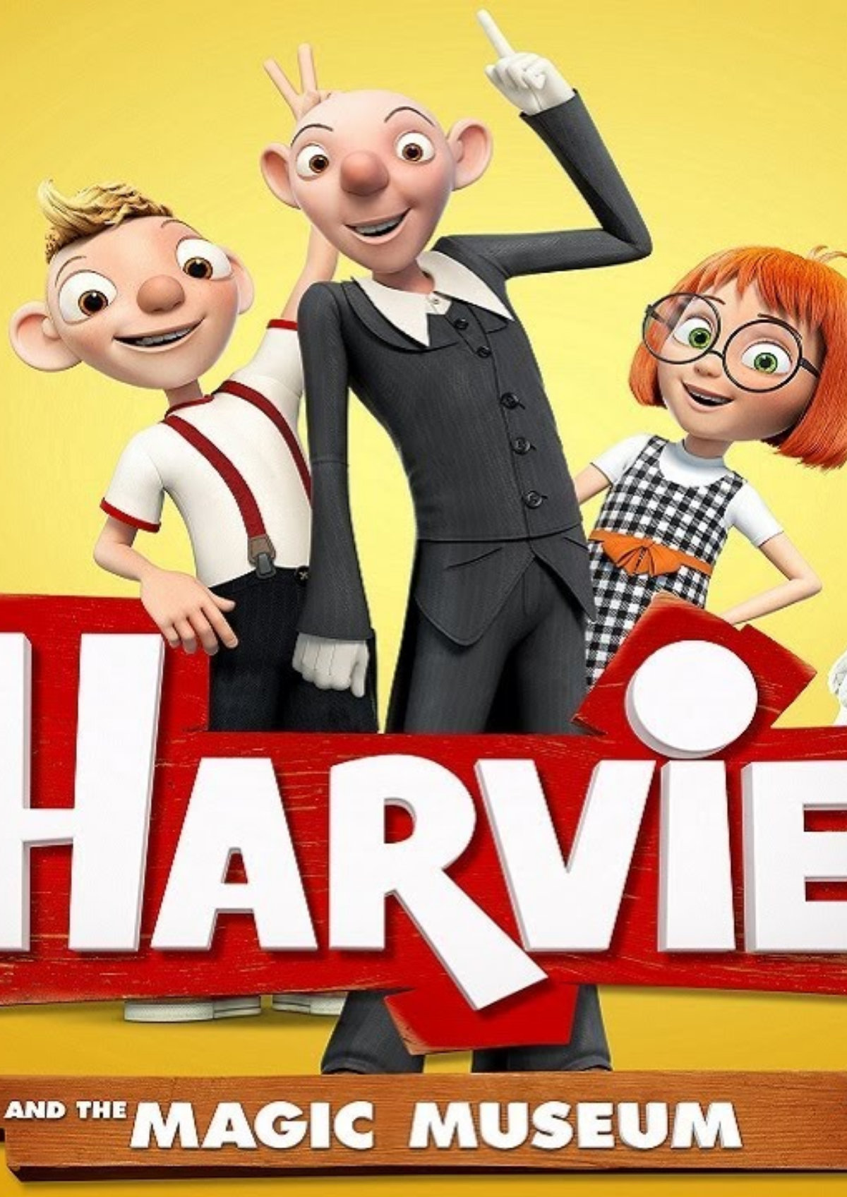 'Harvie and the Magic Museum' movie poster