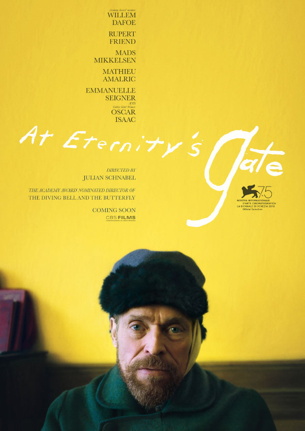 'At Eternity's Gate' movie poster