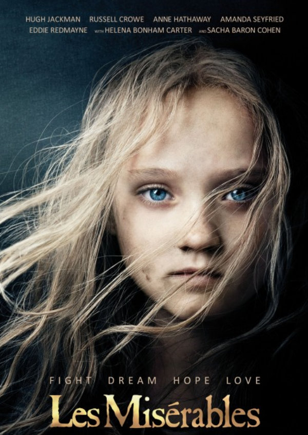 'Les Misérables' movie poster