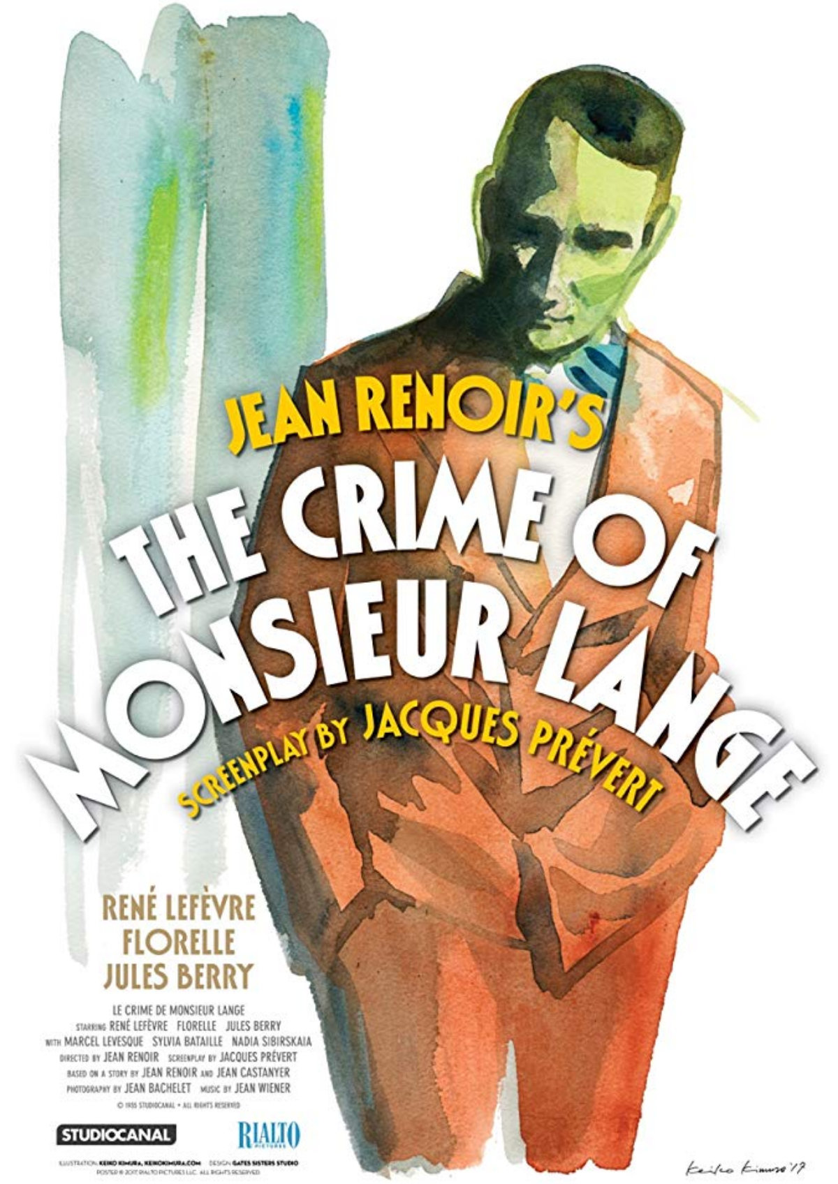 'The Crime Of Monsieur Lange (Le Crime De Monsieur Lange)' movie poster
