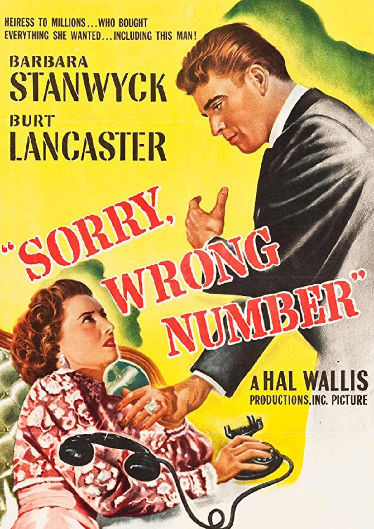 'Sorry, Wrong Number' movie poster