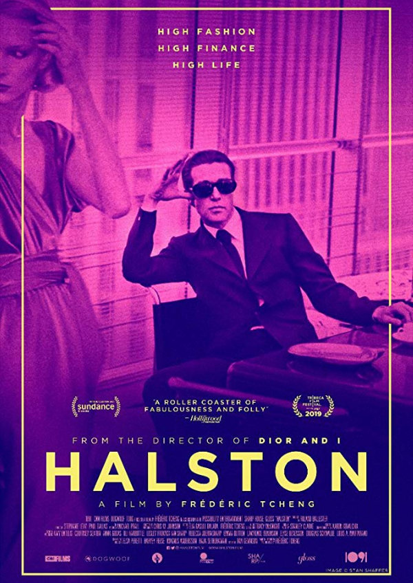 'Halston' movie poster