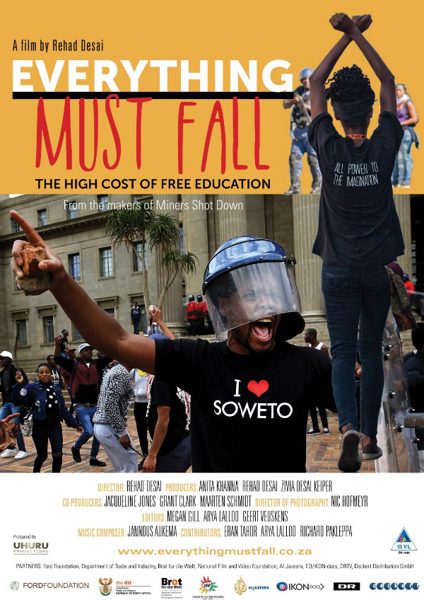'Everything Must Fall' movie poster