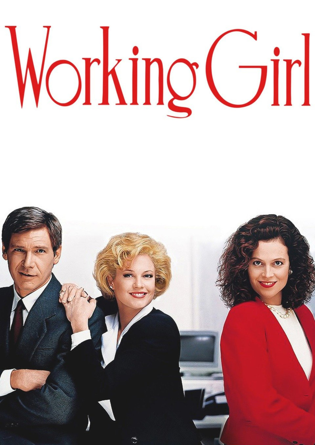 'Working Girl' movie poster