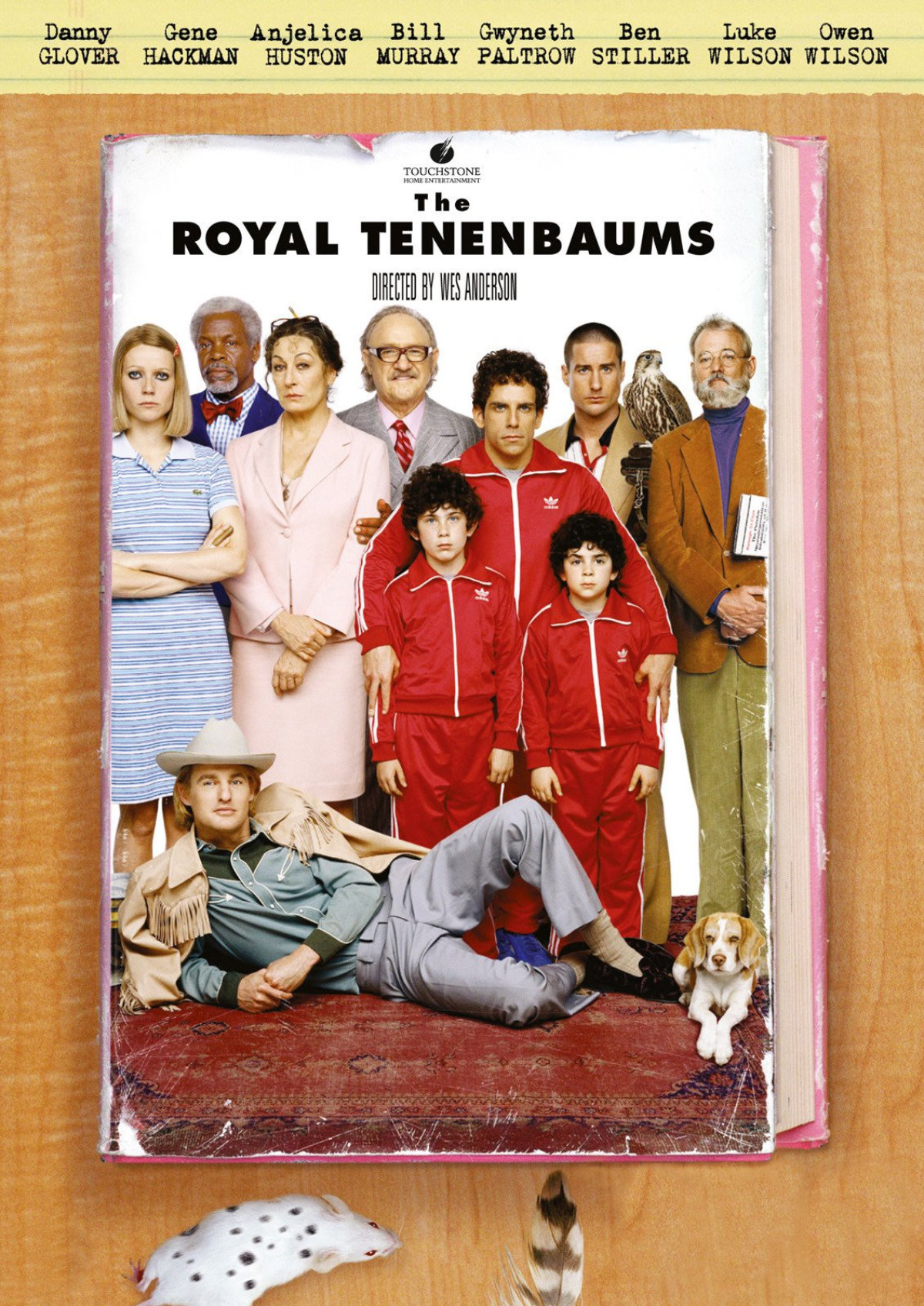 'The Royal Tenenbaums' movie poster