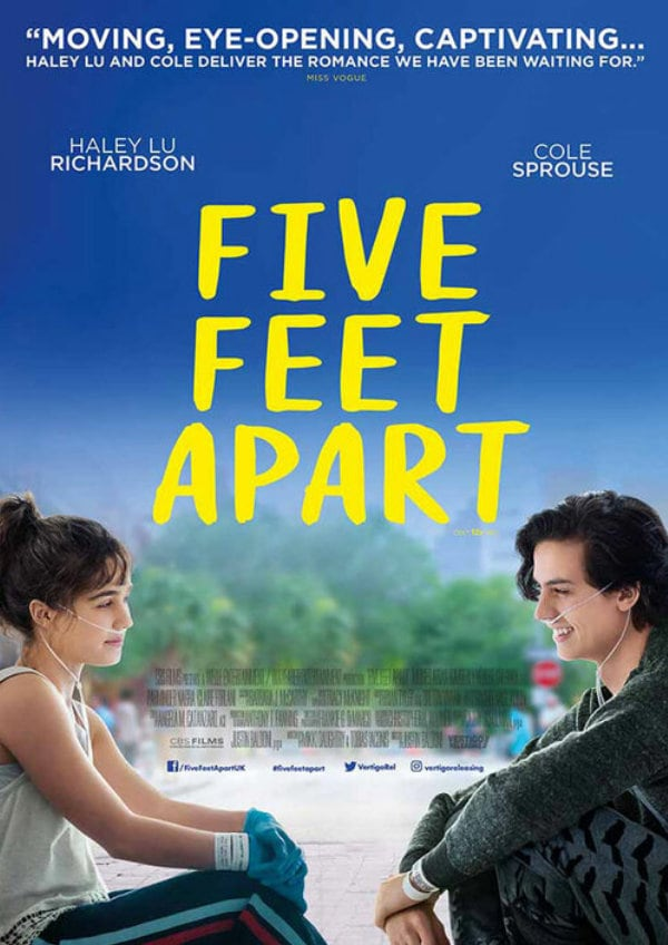 'Five Feet Apart' movie poster