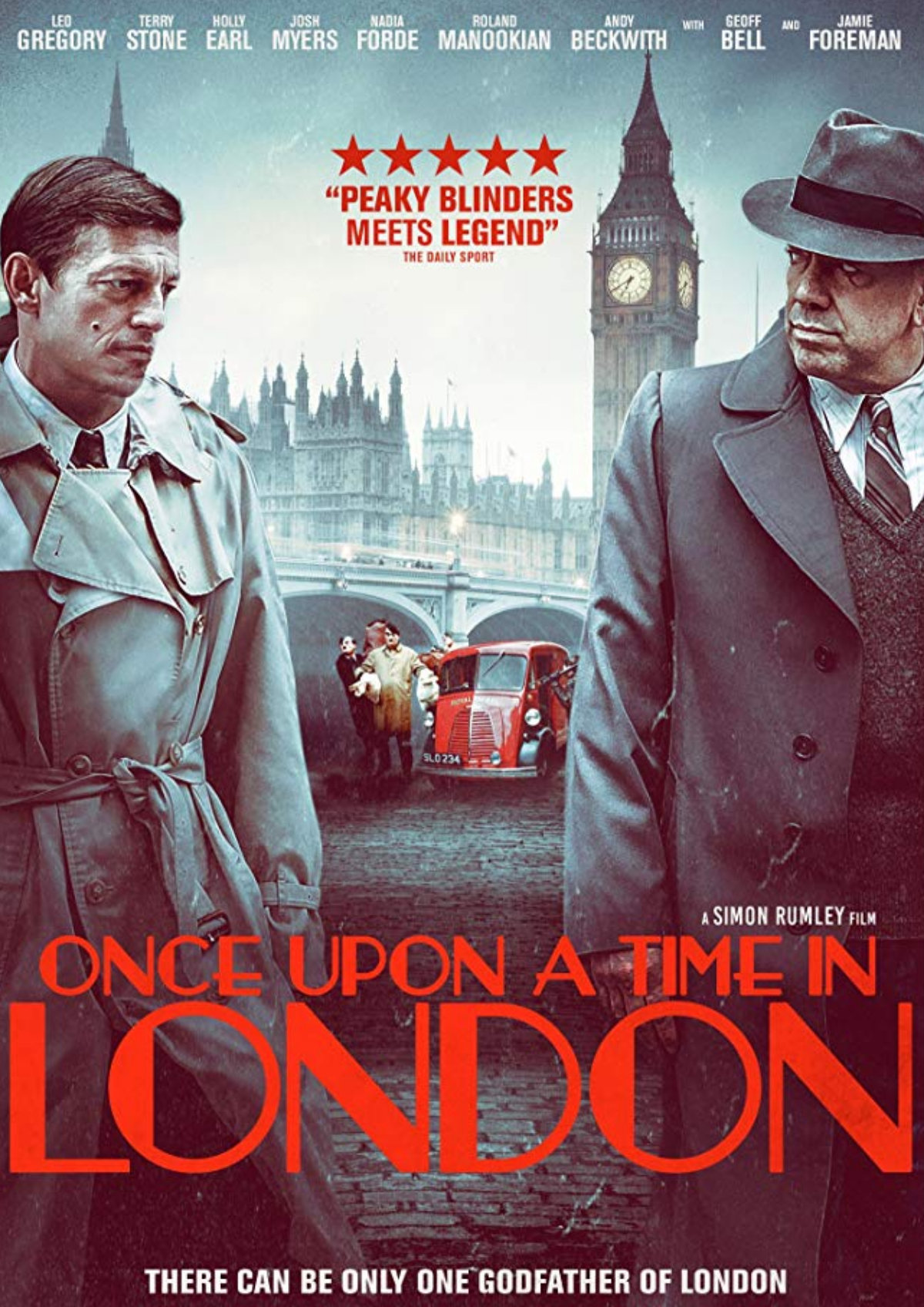 'Once Upon A Time In London' movie poster