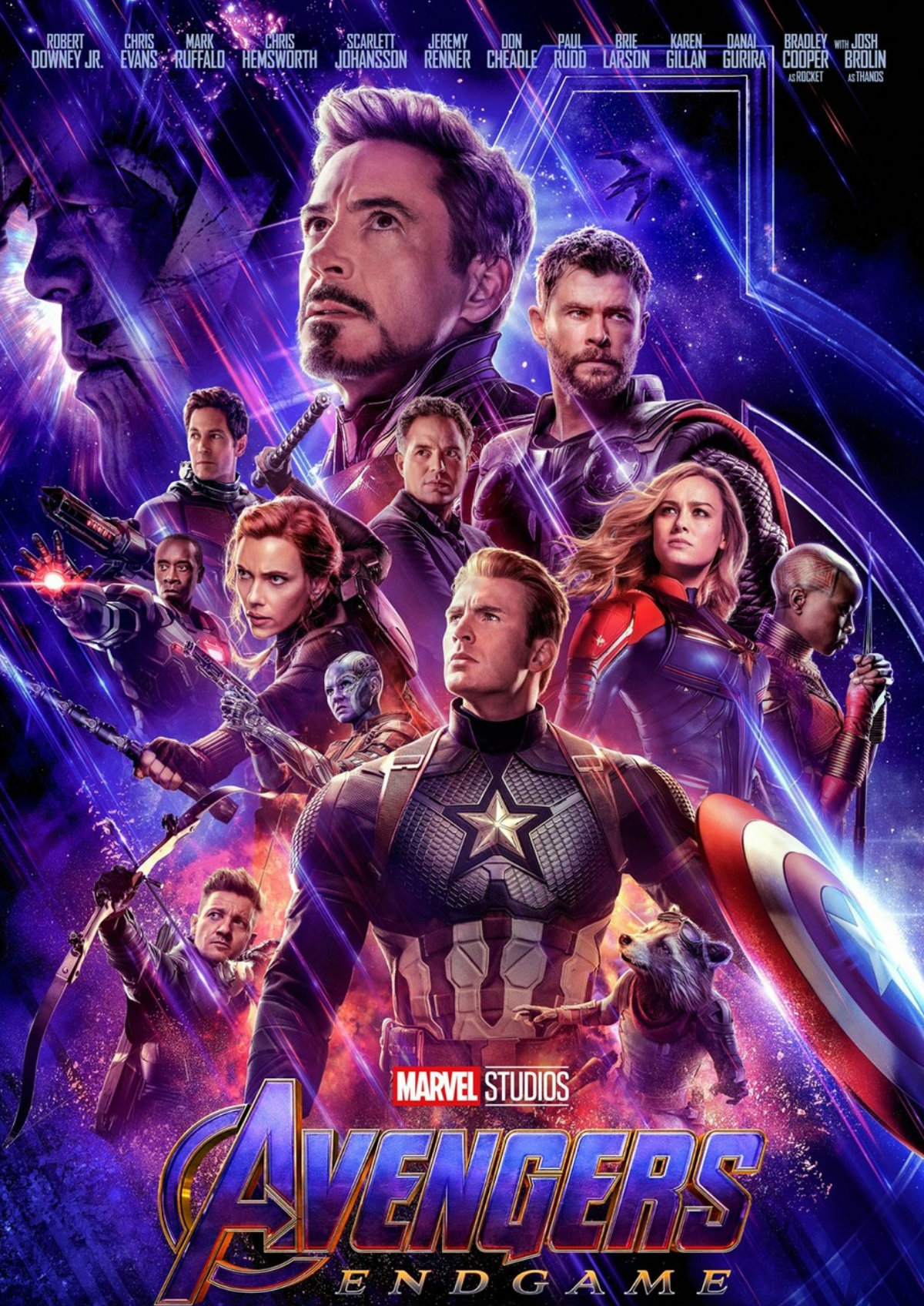 'Avengers: Endgame' movie poster