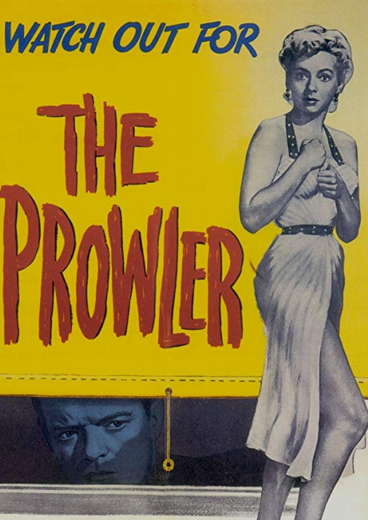 'The Prowler' movie poster