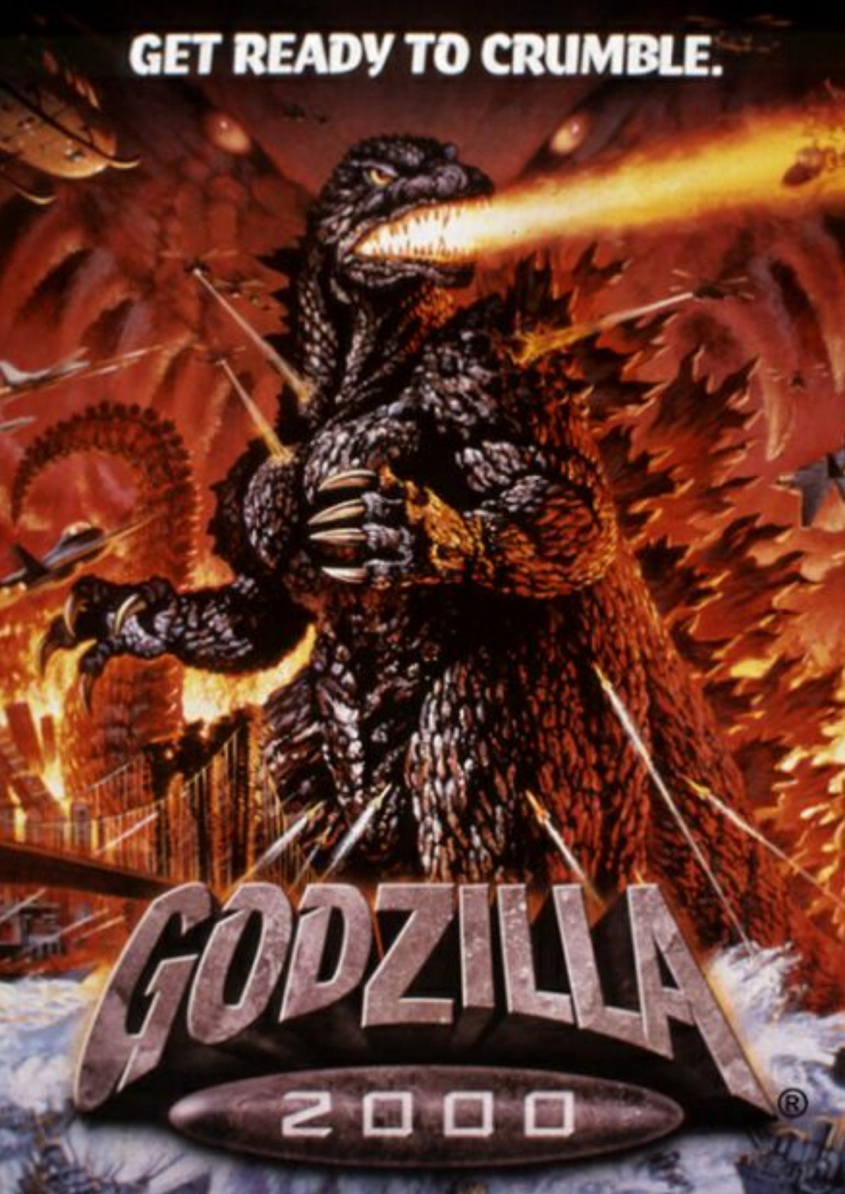 'Godzilla 2000' movie poster