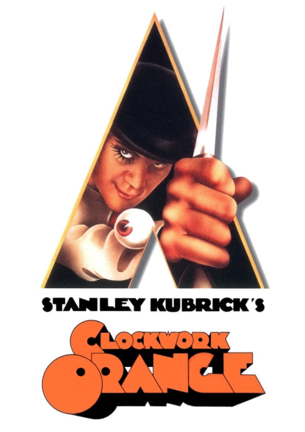'A Clockwork Orange' movie poster