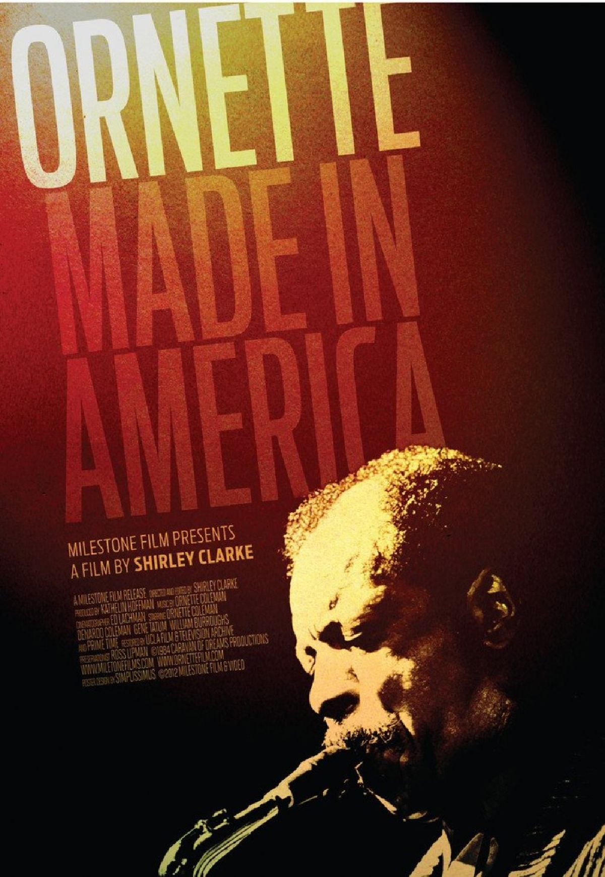 'Ornette: Made in America' movie poster