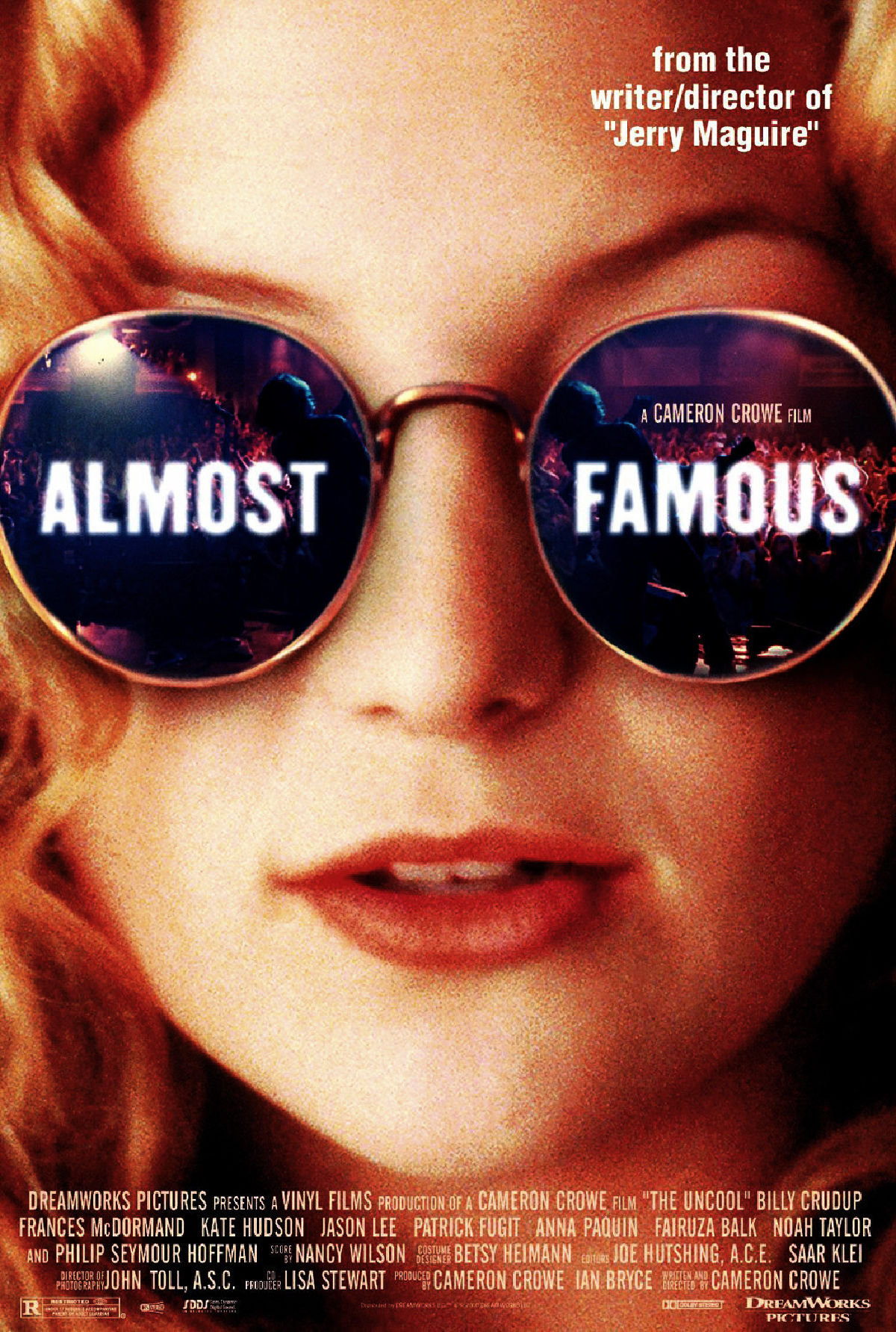 'Almost Famous' movie poster