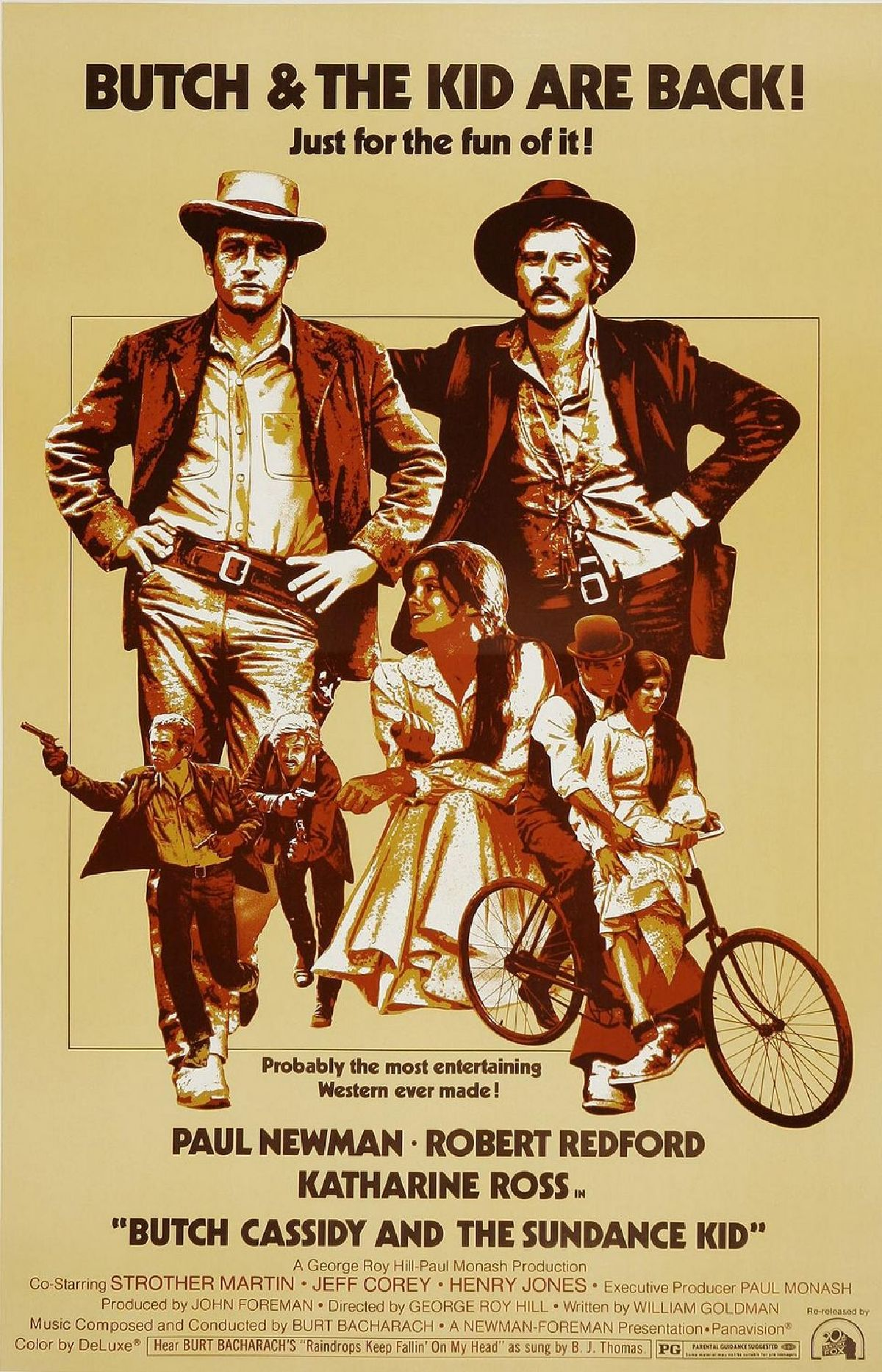 'Butch Cassidy and the Sundance Kid' movie poster