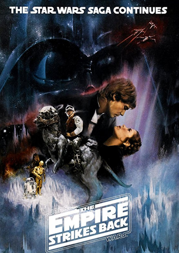 'Star Wars: Episode V - The Empire Strikes Back' movie poster