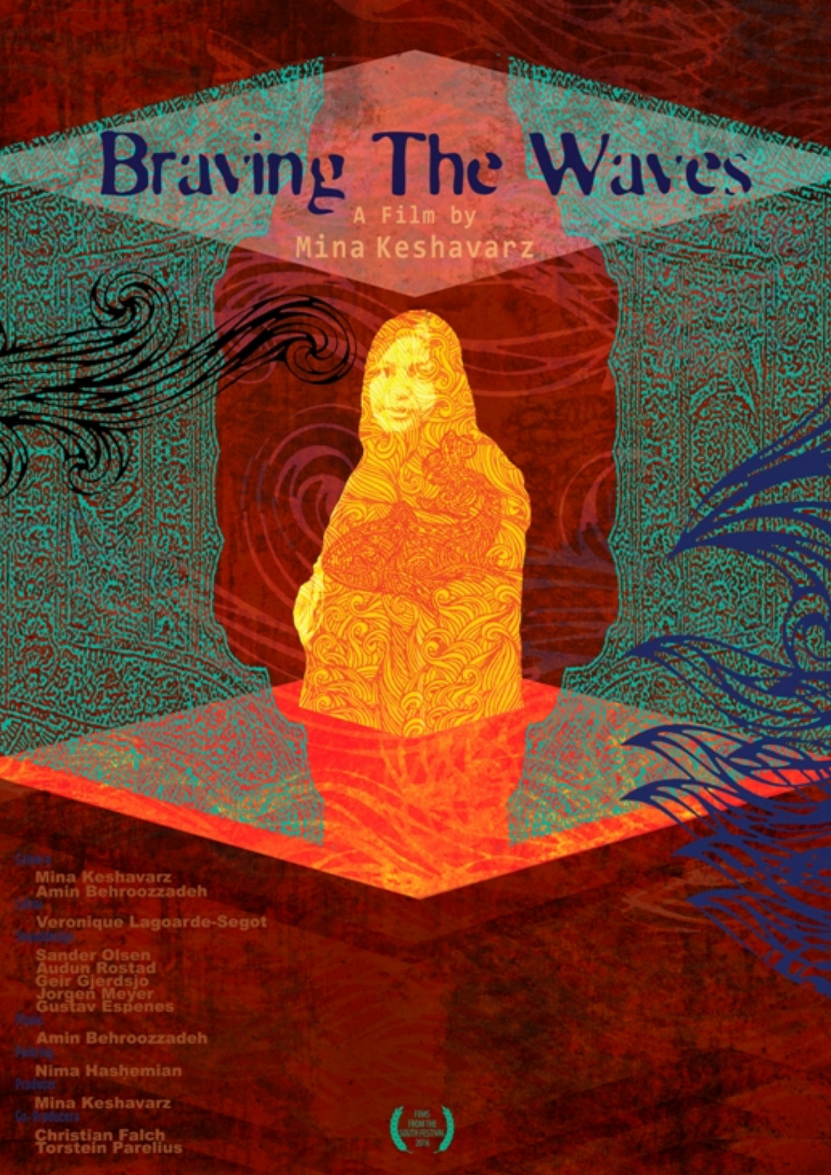 'Braving The Waves' movie poster