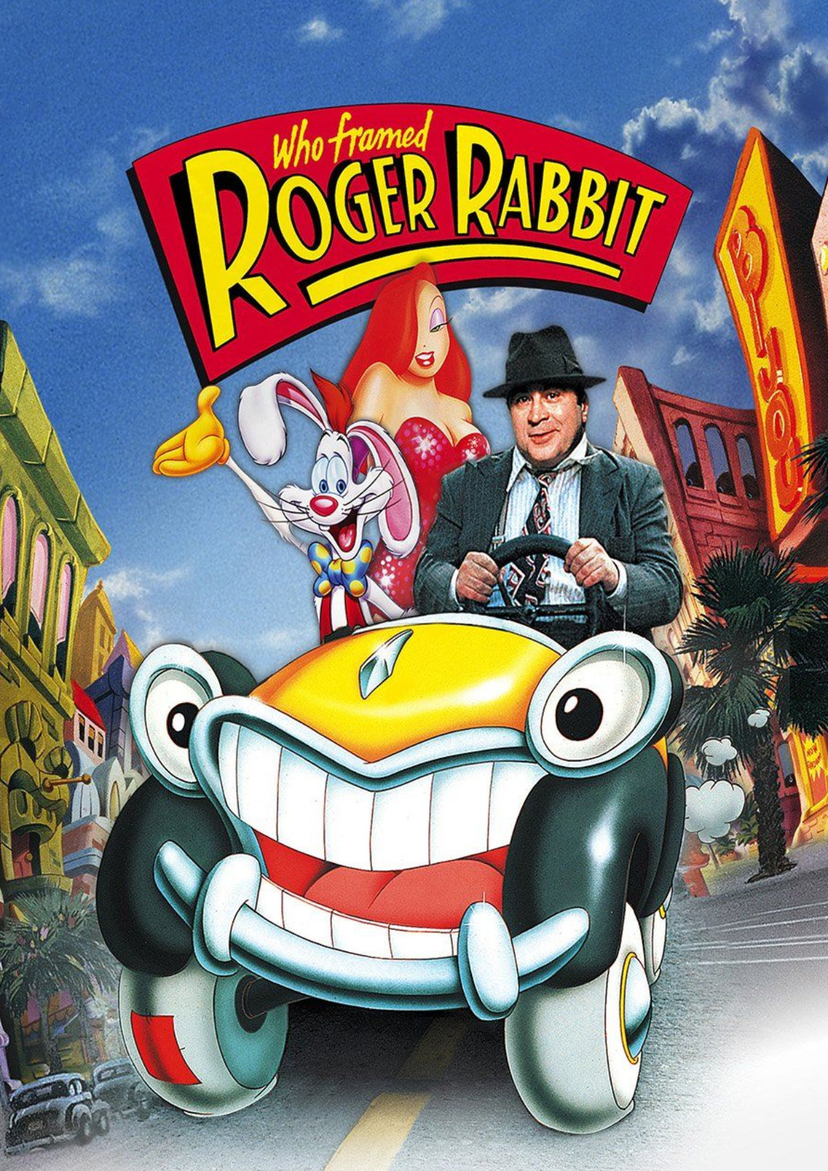 'Who Framed Roger Rabbit?' movie poster
