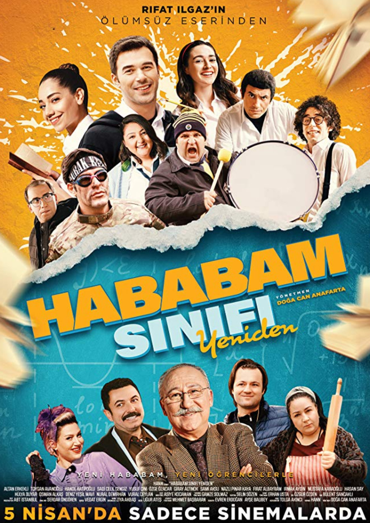 'Hababam Sinifi Yeniden' movie poster