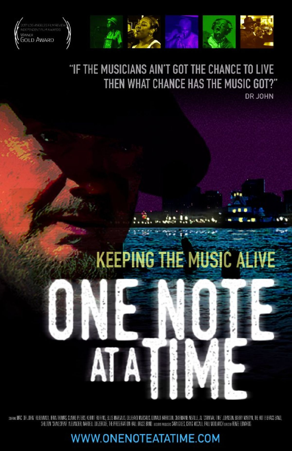 'One Note at a Time' movie poster