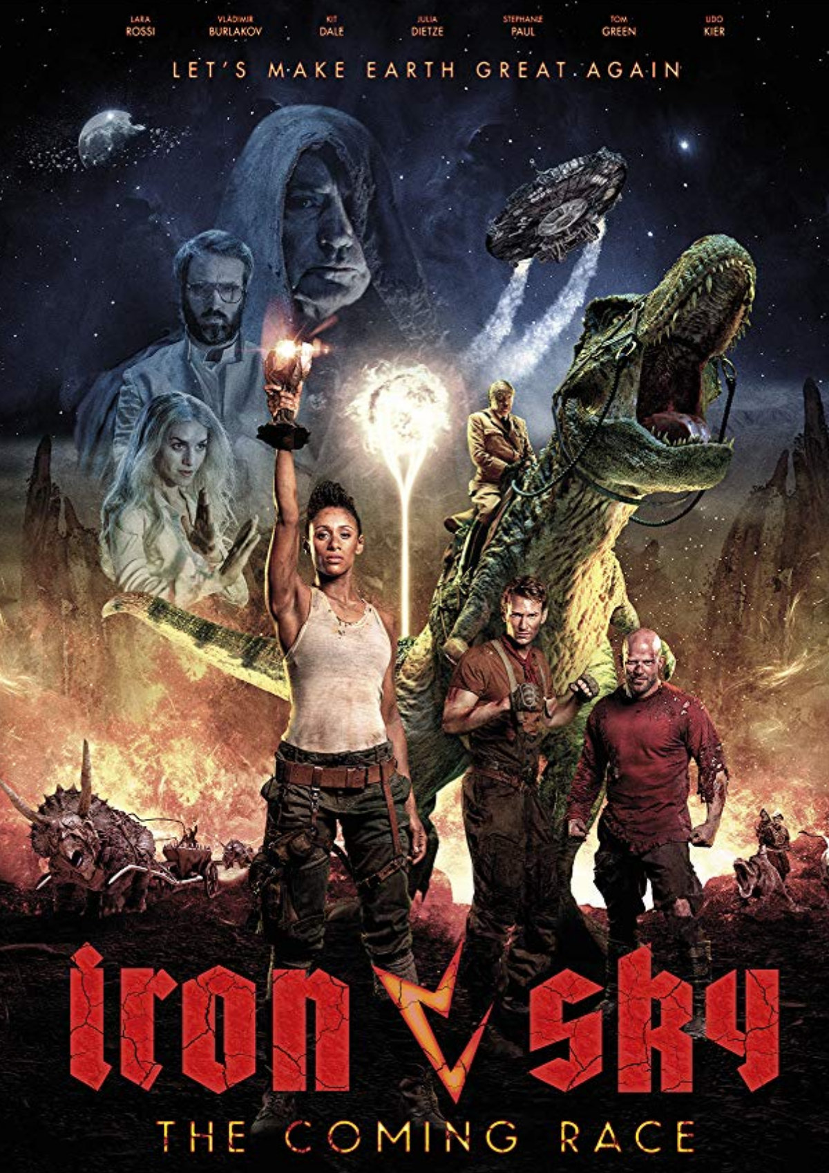 'Iron Sky: The Coming Race' movie poster